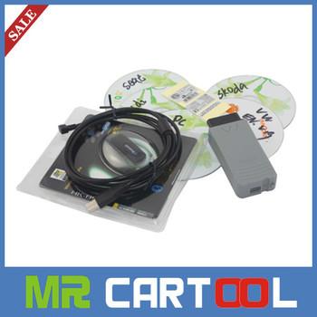 Hot Sale 2014 Super full car deagnostic scanner interface v19  vas 5054a with OKI chip vas5054a Bluetooth vas 5054