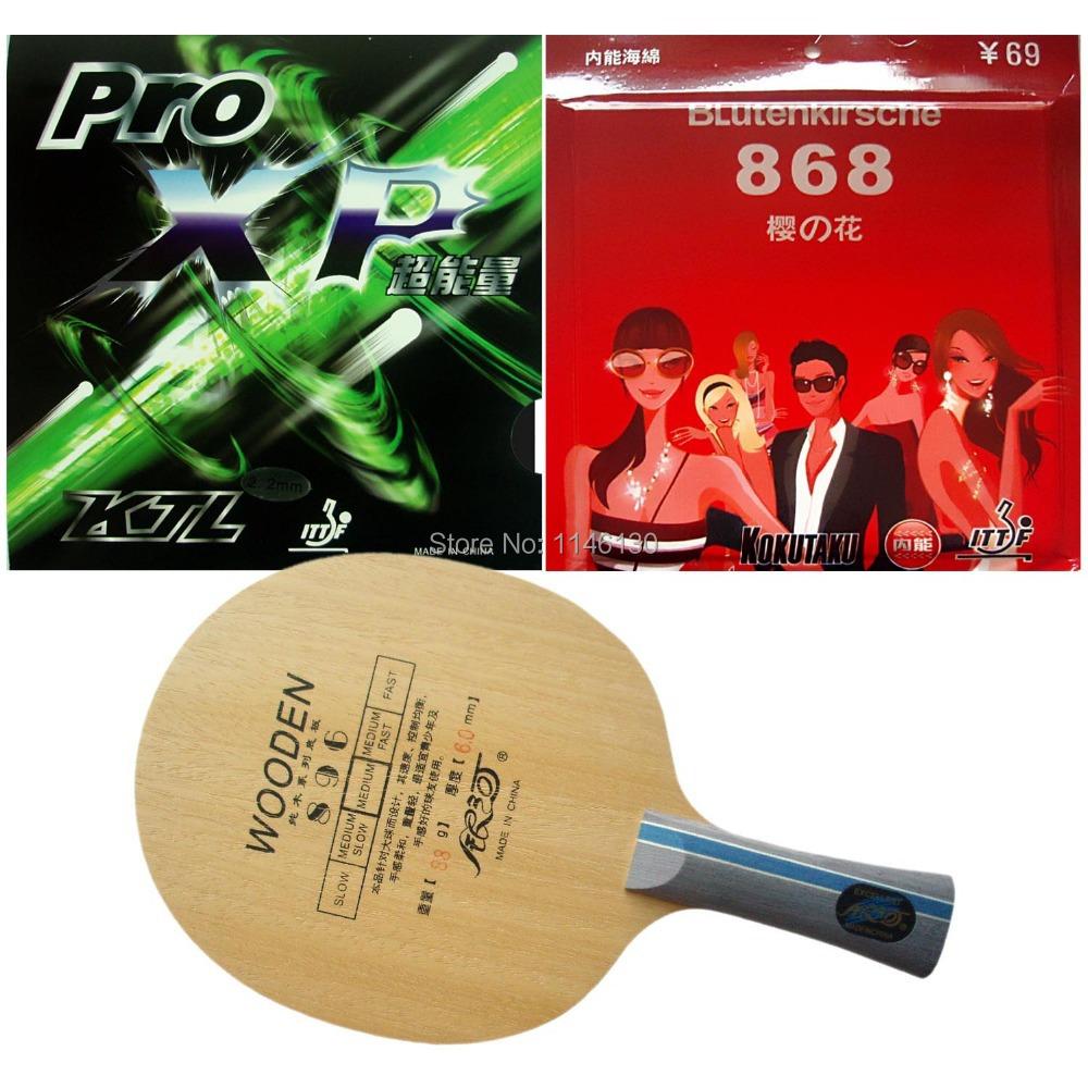 Pro Table Tennis (Ping Pong) Combo Racket: Galaxy 896 + KTL Pro XP / Kokutaku BLutenkirsche 868 (Tension)<br><br>Aliexpress