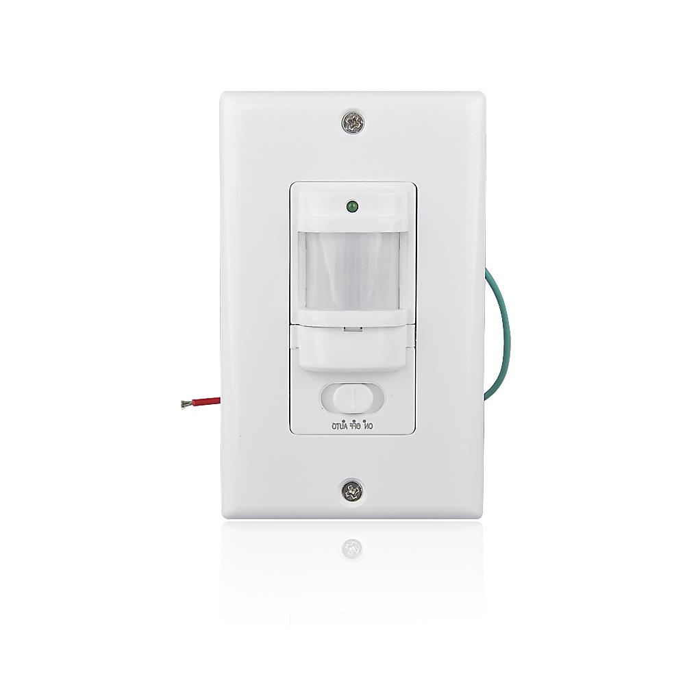Wall Motion Sensor Light Switch: Max 30 minutes delay Wall Mount Motion Sensor Automatic PIR Infrared Sensor  Light Switch 9m Max (ET033),Lighting