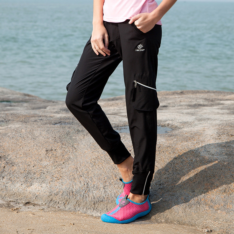 Summer Women Hiking Pants Outdoor Trousers Climbing Girls Thin Breathable Quick Dry S-XXL - Lifes store