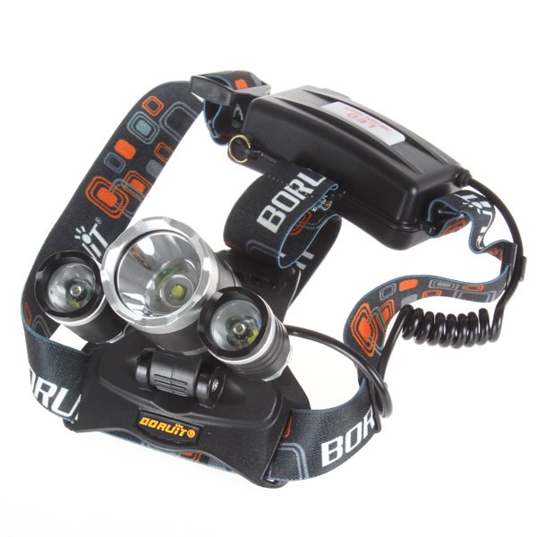JR-3000 3X CREE XML T6 LED Headlamp Headlight 4 Mode Head Light Lamp for Cycling Camping Traveling Hiking outdoor Sport(China (Mainland))