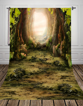 studio Photography Backdrop Vintage photo studio photographic background Old Forest Newborns Kids Background D-8270(China (Mainland))