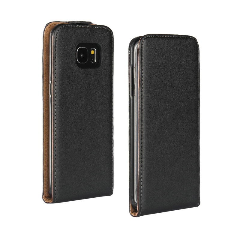 Cell Phone Case For Samsung S7 Eege Vertical Flip Split Genuine Leather Magnetic Case Cover For Samsung Galaxy S7 Edge G935