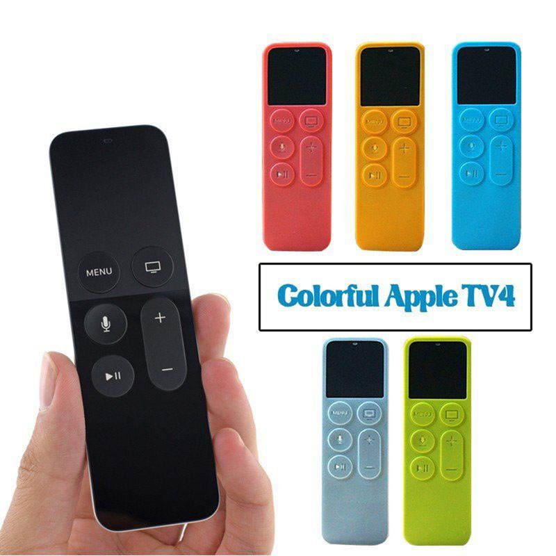 Dustproof Protective Case Silicone Cover for Apple TV 4 Remote Control Best Price(China (Mainland))