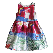 2016 summer vestidos baby girl dresses fashion casual 1 year girl baby birthday dress vestido infantil baby christening gowns