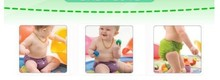 2015 new free shipping 2 pcs diapers 2 pcs insert liners 4 pcs Wholesale baby underwear