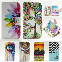 Phone Wallet Case For funda coque Samsung Galaxy S3 Case i9300 for Samsung Galaxy S3 Neo Case i9300i With Stand Card Holder(China (Mainland))