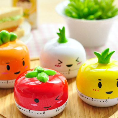 Lovely vegetable animal model timer, kitchen Mini countdown timer, cartoon convenient electronic reminder(China (Mainland))