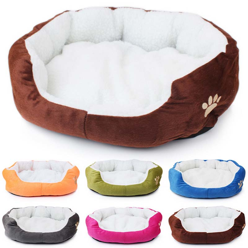 Pet Dog Cat Litter Cotton Comfortable Soft Sofa Bed Puppy Plush House Removable Washable Nest Sleep Warm Kennel Mat Pad Cushion