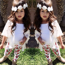 Buy 2017 Baby Girl Clothes Summer Baby Gril Clothing Sets Cotton Short Sleeve 3Pcs Kids Baby Girl Clothes Children Suit+Vest+Pants for $10.16 in AliExpress store