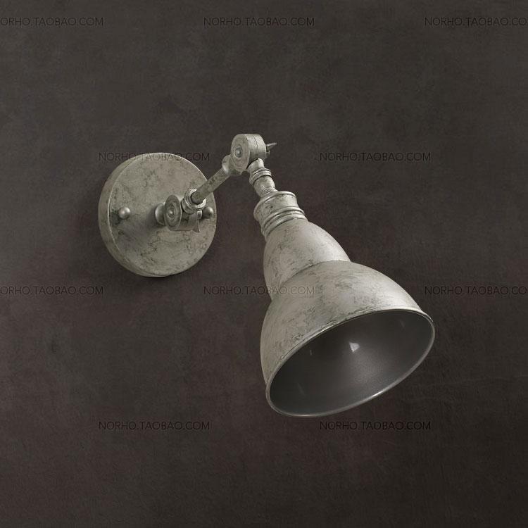 American classic french vintage loft lye metal wall lamp for American classic lighting