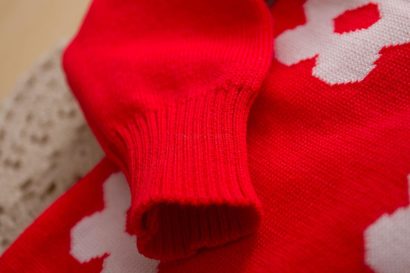 2014 новых осенью женщин-детская девушка одежда цветения сливы экипажа дети подсолнухи свитер