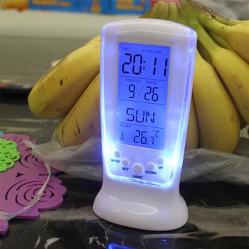 Clocks Frozen Led Digital Clock Despertador Desk Clock Bedside Alarm Clock Electronic Watch Square Gift For Kids