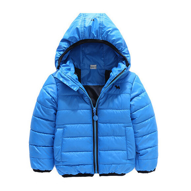 2015 Winter New Brand Children Clothing Fashion Cotton Kids Hooded Jacket&Coat Boys&Girls Striped Warm Outerwear Bebes