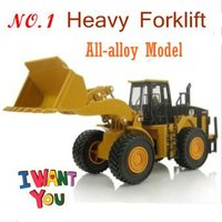 NEW heavy powered forklift truck, all-alloy construction vehicles model, kids toy, delicate work + free shipping
