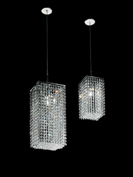 chrome single lights crystal pendant lamp dinning room fixtures bar light - fashion chandelier store