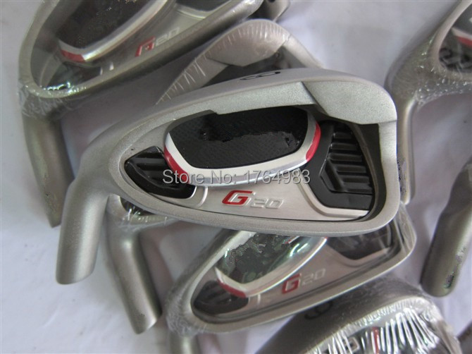 Left Hand G20 Iron Set Golf Irons OEM Clubs 4-9PASw Regular/Stiff Graphite/Steel Shaft Come Head Cover - Leisures store