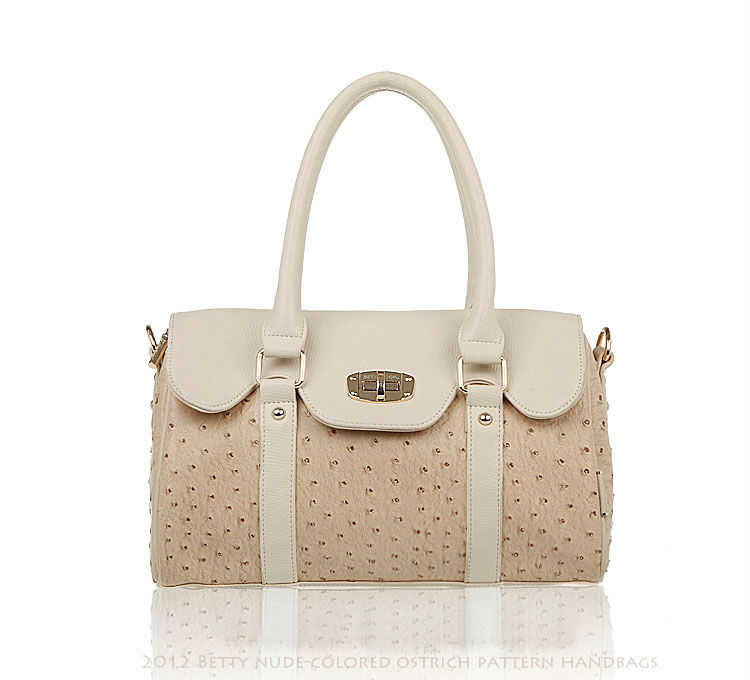 New Style Free Shipping ostrich vein women handbags, evening bags, ostrich leather handbags, popular shoulder bags, women tote(China (Mainland))