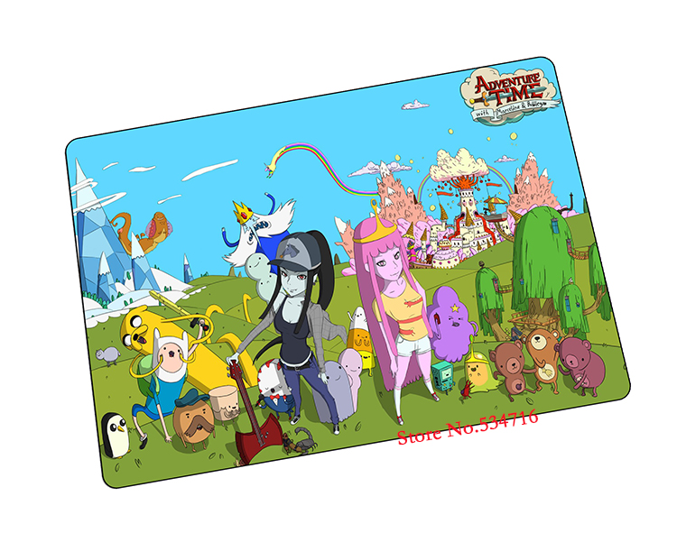 Adventure Time mouse pad Christmas gaming mousepad laptop pad to mouse notbook computer computer mouse pad gamer play mats(China (Mainland))