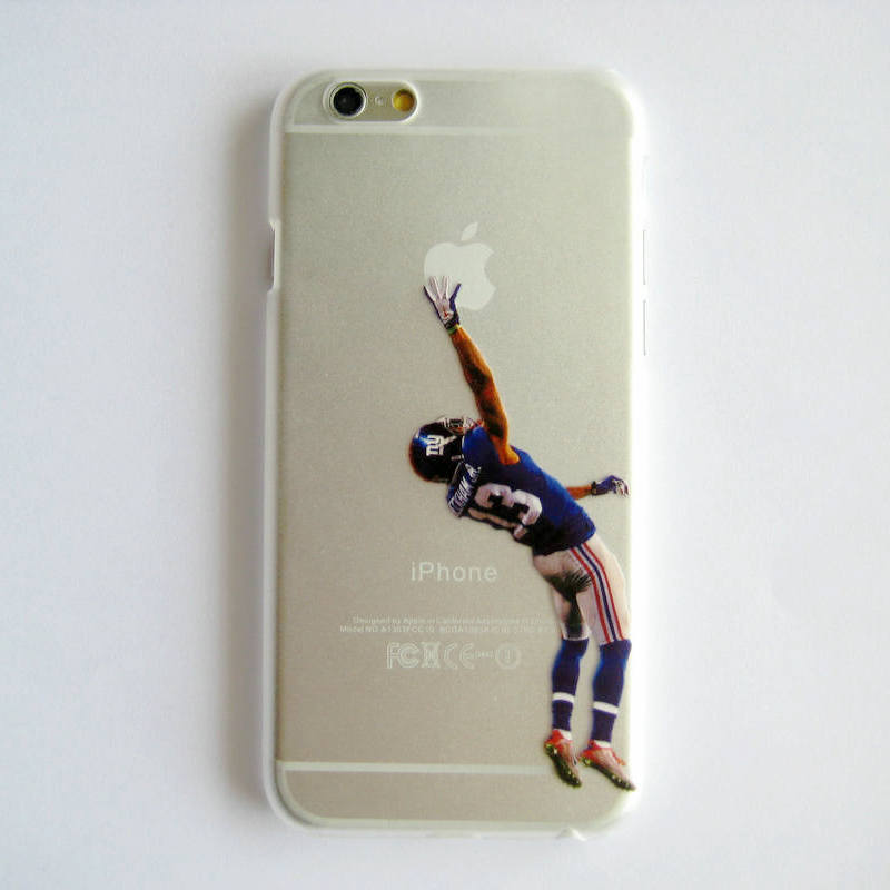 Clear Case for iphone 6 American Football Odell beckham jr Watt Murray printed Phone Cover for iphone 6 4.7''(China (Mainland))