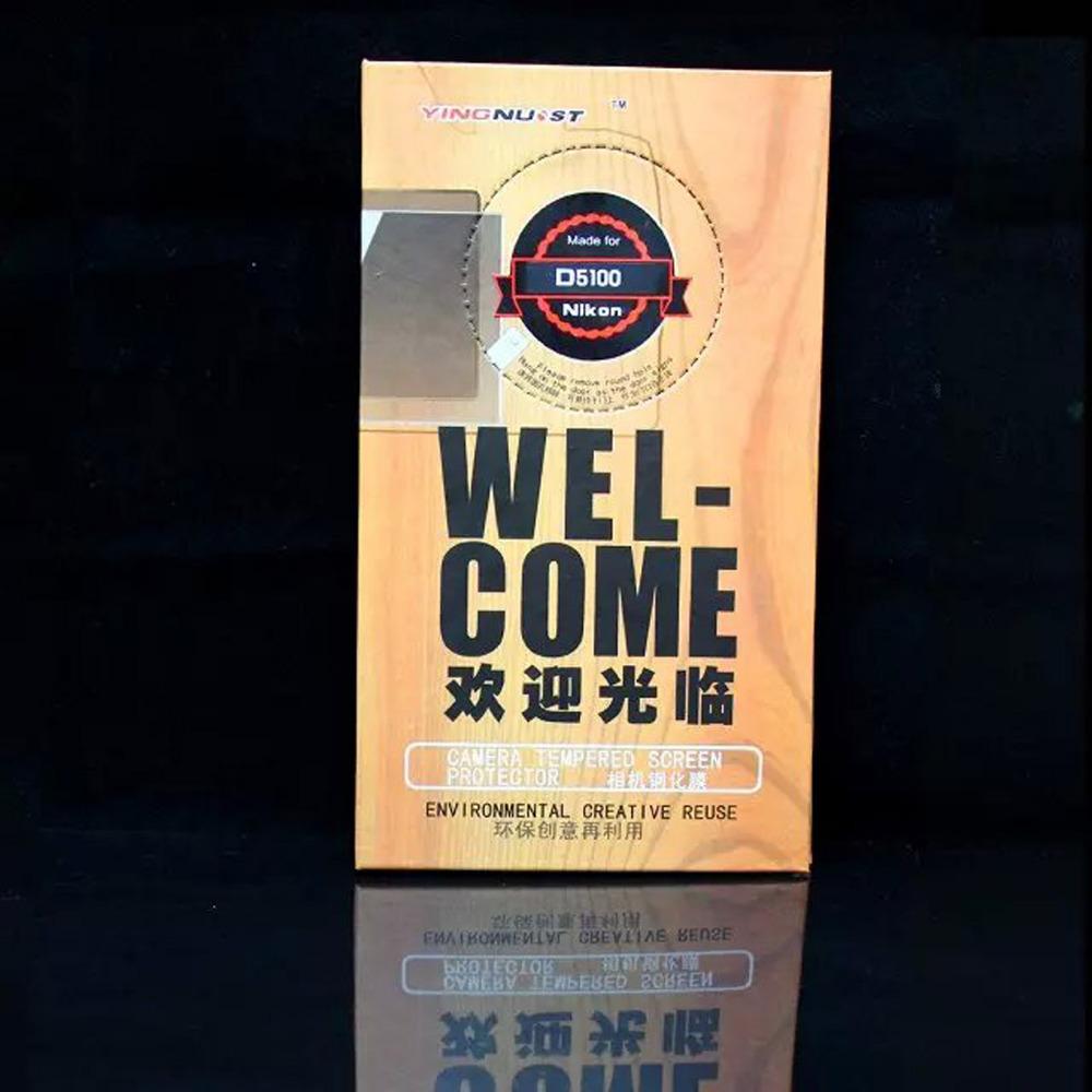 New Tempered Glass HD Screen Protector for Nikon D5100 Digital Camera SLR Camera Shield Film!(China (Mainland))