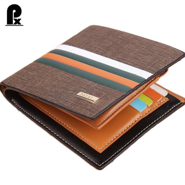2016 дизайнер из натуральной pu кожаный бумажник мужчины кошельки люксовый бренд ...