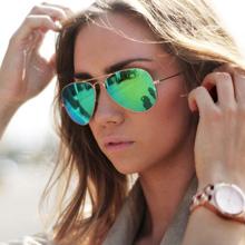 Unisex Classical Aviator Points Womens Glasses 2015 Driveing Mirror Sunglasses Female Brand Male Oculos de sol Pilot Eyewear Men