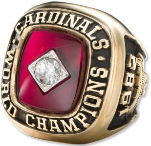 Hot selling!MLB 1982 ST. LOUIS CARDINALS WORLD SERIES CHAMPIONSHIP RINGS!!Free Shipping(China (Mainland))