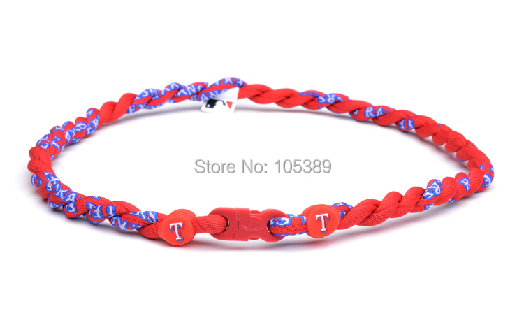 50pcs Basketball baseball football 2 rope tornado twist necklaces Arkansas Razorbacks Many new teams Only necklace ,No box(China (Mainland))