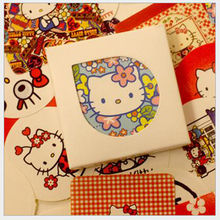 New Hot 1 Lot = 38pcs Vintage Paper Stickers Box Packing Diy Scrapbooking Decorative Gift/envelop Seal Sticker Lovely Kt Cat