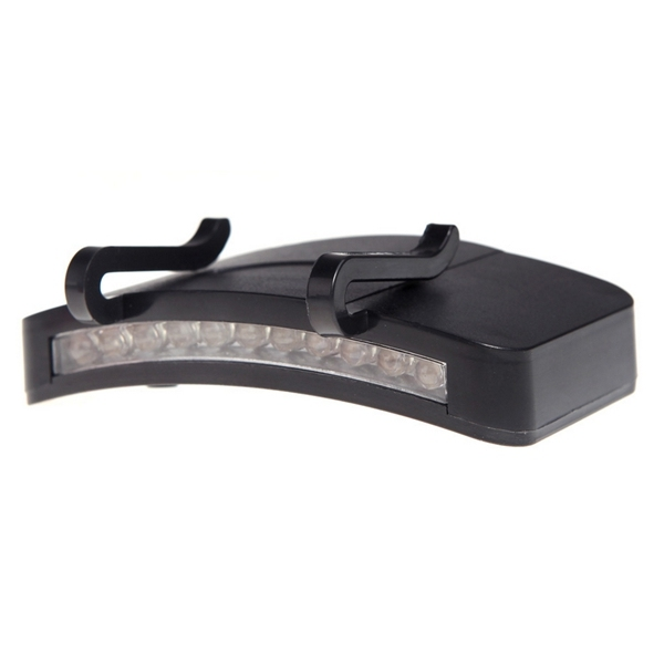 11 LED Clip-On Cap Light