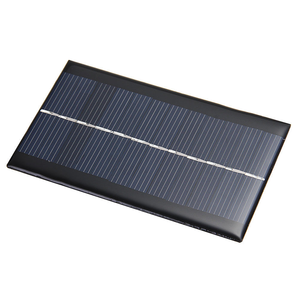 Mini 6V 1W Solar Power Panel Solar System Module DIY For Cell Phone Chargers Portable Solar Panel Bank Free Shipping(China (Mainland))