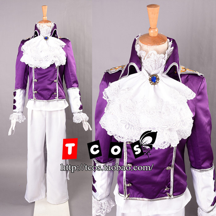 Free shipping! Newest! Vocaloid Gakupo Tuxedo Cosplay Costume ,Perfect custom for you!Одежда и ак�е��уары<br><br><br>Aliexpress