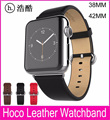 2017 New Genuine Leather Band For Apple Watch 42MM 38MM Made By First Layer Cattle Leather
