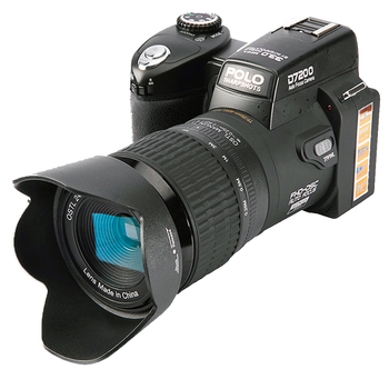D7200 digital cameras 13MP DSLR cameras 24X Telephotos Lens & 8X Digital zoom Wide Angle Lens LED Spotlight