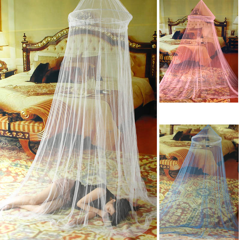 Elegant Netting Bed Canopy Mosquito Net door White Curtain Nets Bedding Set Mosquiteiro Tent Mosquiteiros De Teto Magic Mesh(China (Mainland))