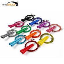 Fedex бесплатная доставка ProCircle 50 шт. Crossfit скакалкой 3 м стали провода кабеля скорость фитнес мма, Wods