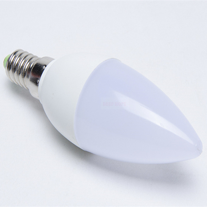 Гаджет  Wholesale 10pcs/lot E14 220V 5W 10LED Ultra Bright LED Candle Bulb Energy Saving  LED Lamp SMD2835 White Warm White LED Light   None Свет и освещение