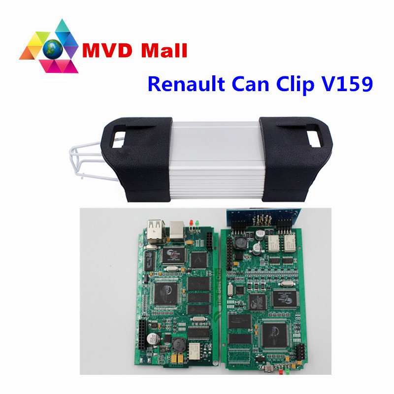 Promotion!!! For Renault CAN Clip Diagnostic Interface V159 With Full Chip Professional Diagnostic Tool Support Multi Function(China (Mainland))