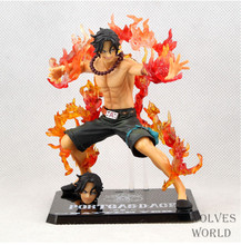 Buy High Quality!!! Anime One Piece Portgas D Ace Battle Ver. Fire Fist Ace6'' 15cm PVC Action Collection igures Model Toys Gifts for $8.50 in AliExpress store