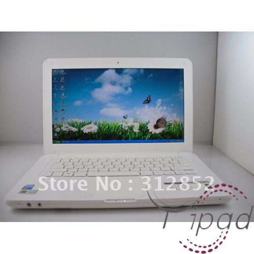 Freeshipping 13.3 inch laptop with DVD drive Dedicated Card laptop CPU 2700(China (Mainland))