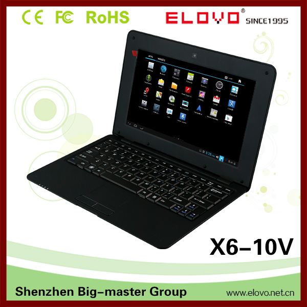 Very cheap mini 10 inch Android netbook roll top laptop price in china(China (Mainland))