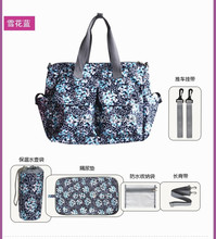Free shipping New design 10colors baby diaper bags for mom baby travel nappy handbags Bebe organizer