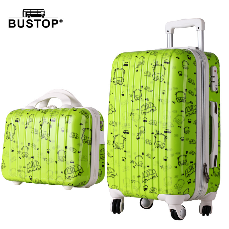 "New Women Fashion Travel Suitcase&Girls Luggage Sets, Universal Wheels Trolley Luggage Travel Bags 20"" 24"" 28"" Rolling Luggage(China (Mainland))"
