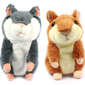 Hot Selling Russian Talking hamster wooddy time stuffed animal toys speaking kid Toy repeat what u said in any language