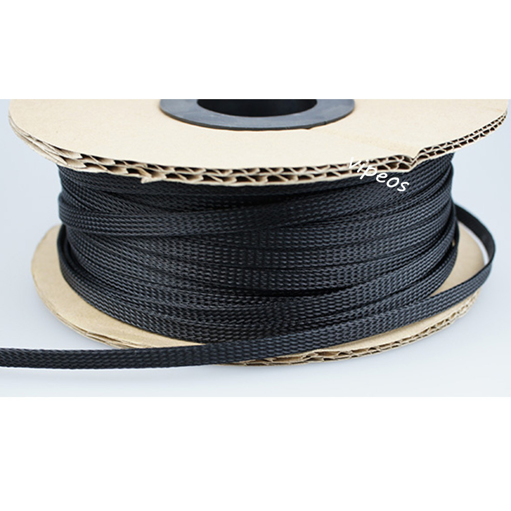 Snap Popular Braided Wire Loom Buy Cheap Lots From Wiring Sleeve Speaker Cable China