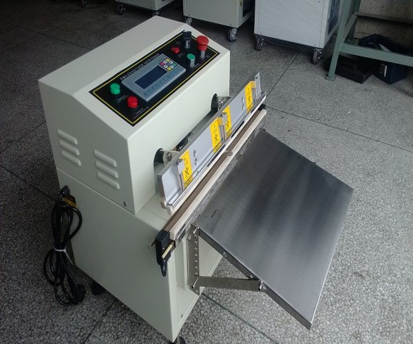 NF-450 With Flushing Automatic Electric Vacuum Bag Packing Machine Suitable for Meat,Clothes Condiment and Medicine Keep Fresh(China (Mainland))