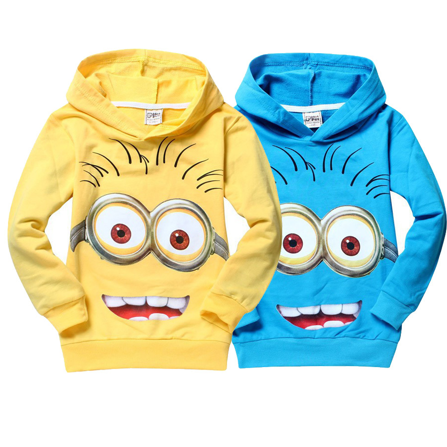 High quality despicable me 2 minion boys t shirt kids minions clothes children child spring autumn