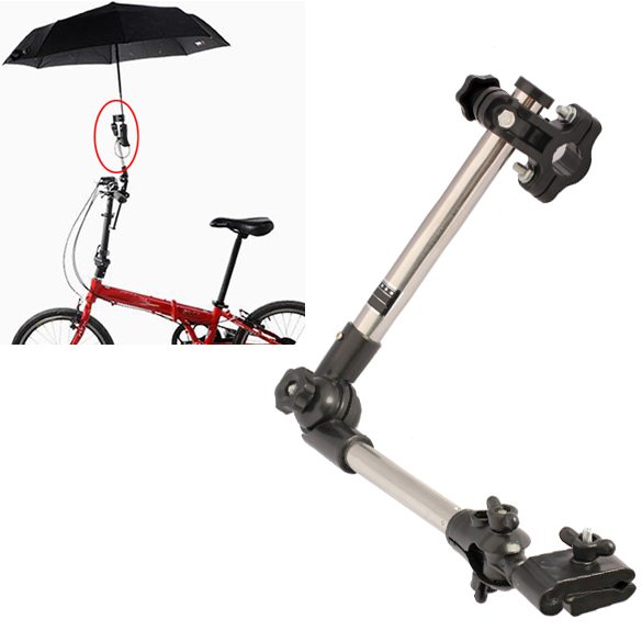 Wheelchair Bicycle Pram Swivel Umbrella Connector Stroller Holder Any Angle Umbrella Stands Free Shipping(China (Mainland))