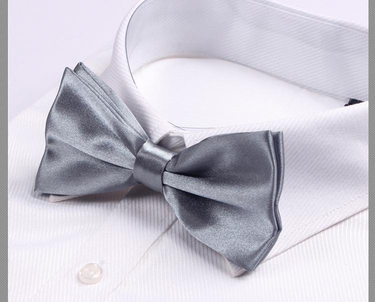 2016 solid color men's bow ties man necktie gift - No.01 Store store
